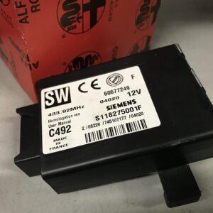 Centralina chiusura centralizzata e radio Siemens - 60677249